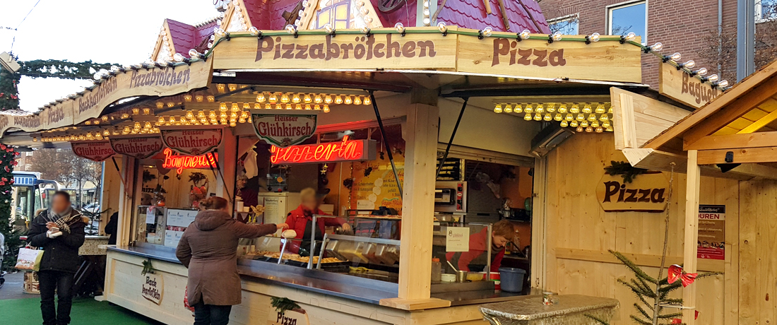 Catering pizza wagen mieten